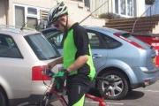 Kidney charity cycle to end in Tenby