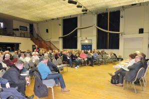 Packed meeting sends out clear message on future of loved Avenue Centre in Tenby