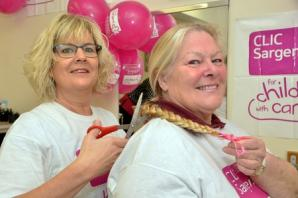 Pembroke Dock woman's £800 children's cancer charity fundraiser a cut above