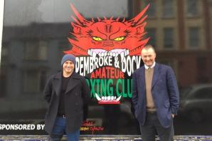 MP 'knocked out' by Pembroke Dock boxing club plans